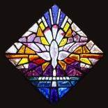 "Dalle de Verre Window - ""Trinity"""