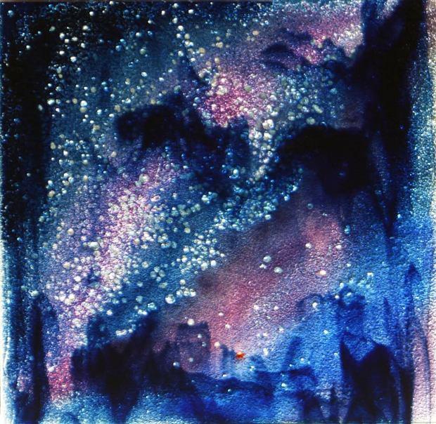Milky Way Magic Glass Painting